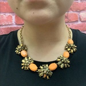 J. Crew Bronze Metallic Necklace